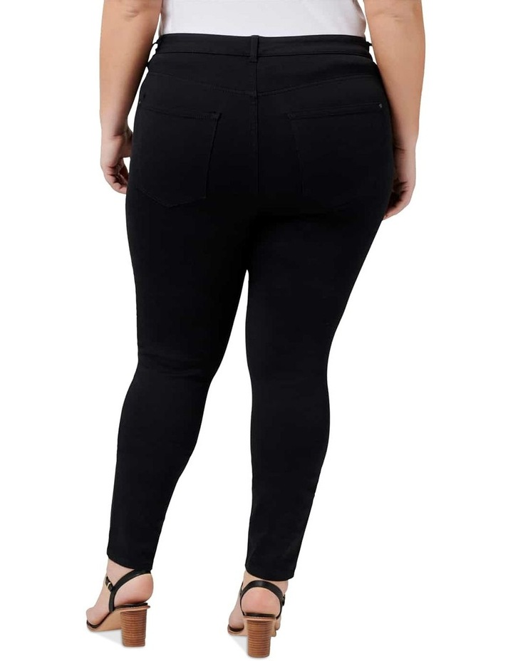 Bianca Curve High Rise Ankle Grazer Jeans image 3