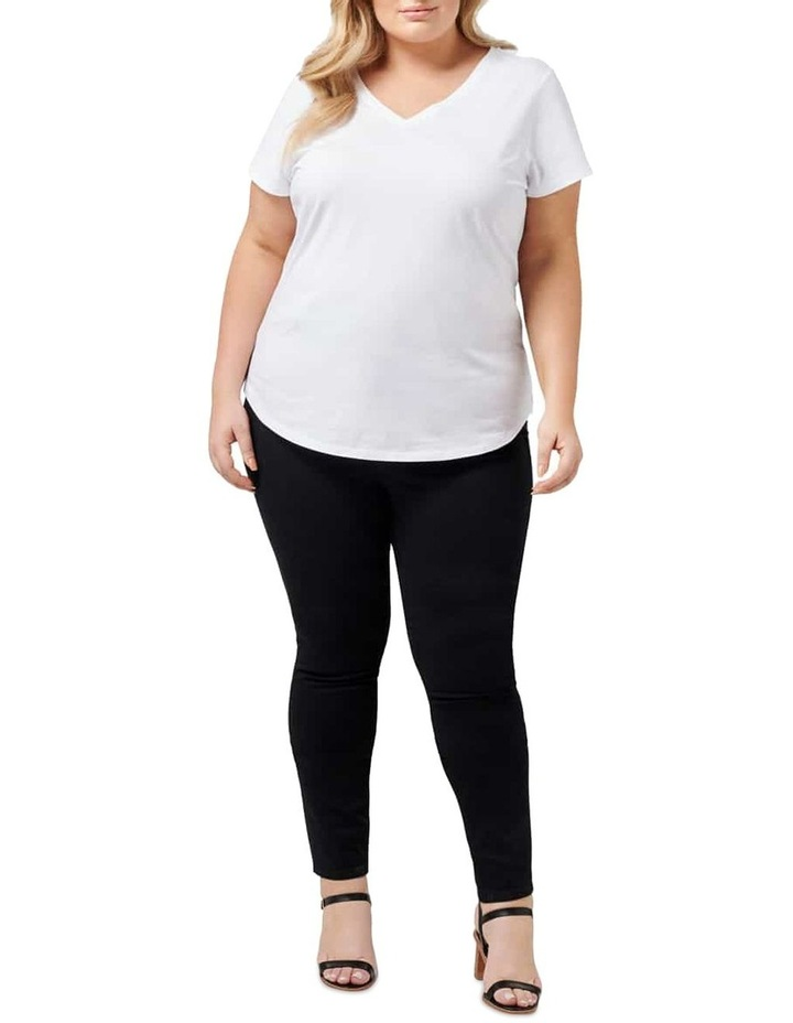 Bianca Curve High Rise Ankle Grazer Jeans image 4