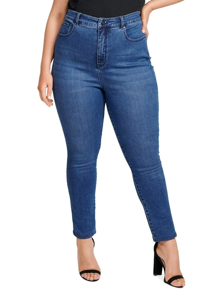 Belinda Curve High Rise Ankle Grazer Jeans image 1