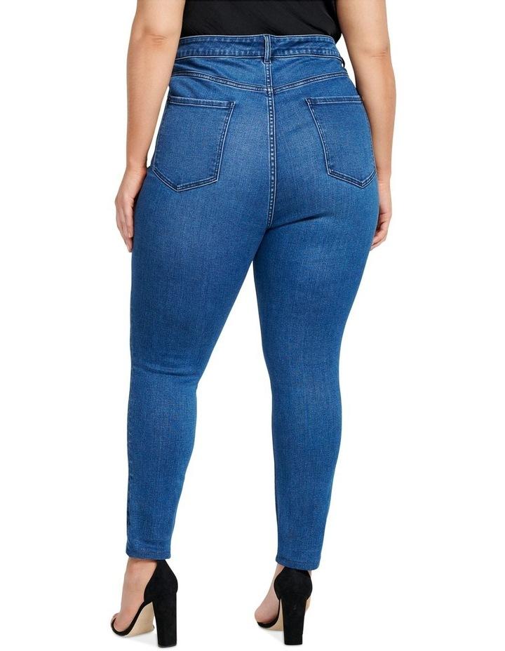 Belinda Curve High Rise Ankle Grazer Jeans image 3