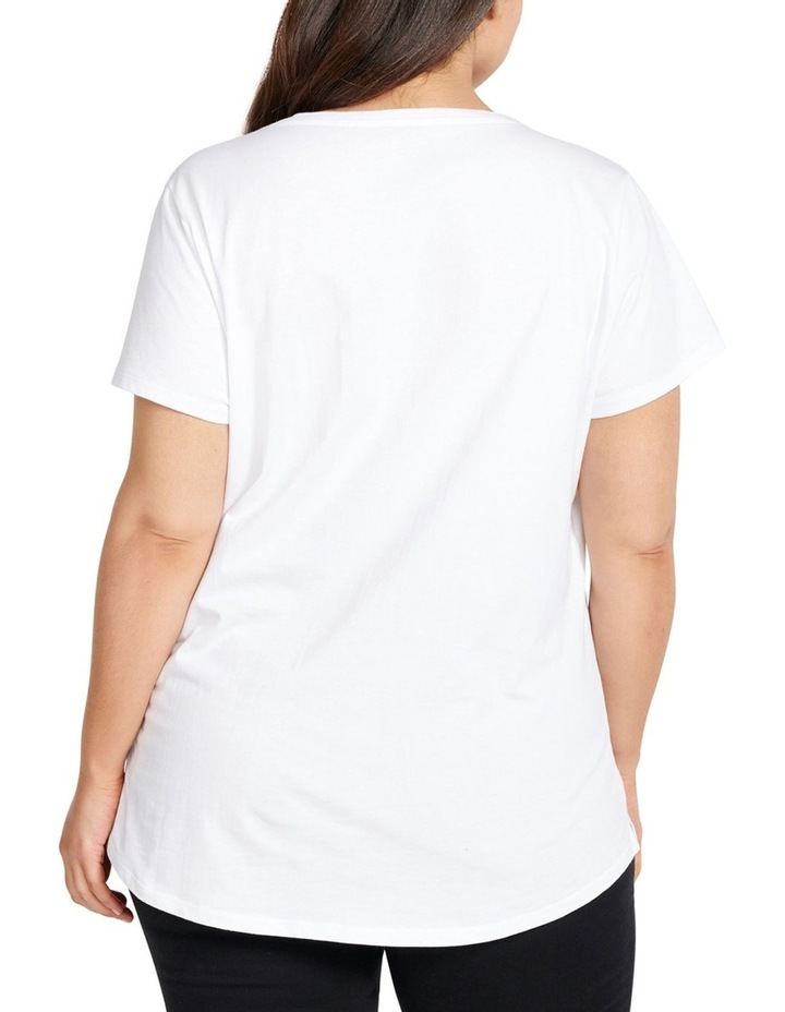 Faith Curve Basic Tee image 4