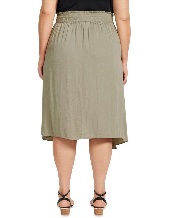 Clara Elastic Waist Curve Wrap Skirt image 3