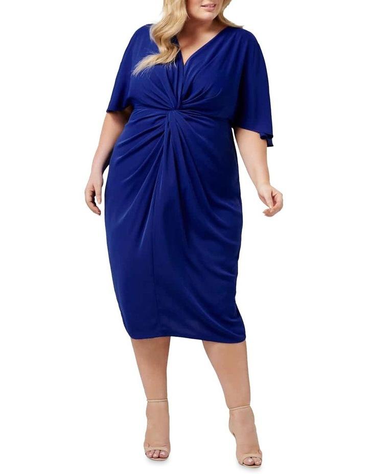 Nora Twist Cold Shoulder Curve Dress image 1
