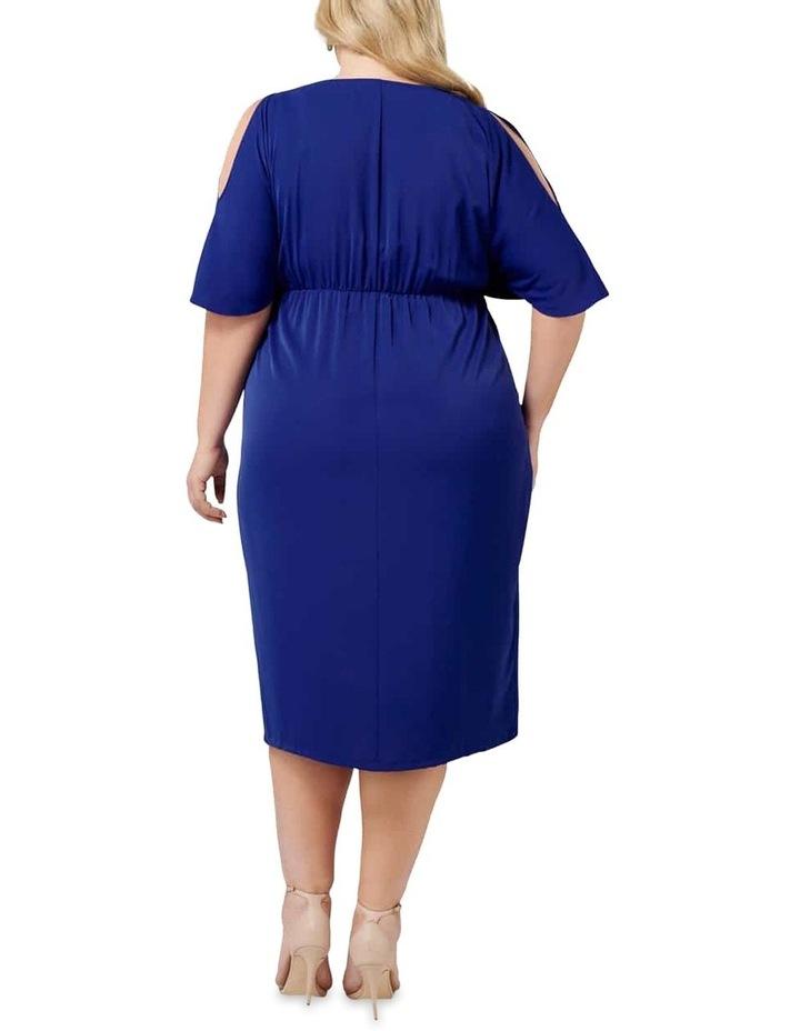 Nora Twist Cold Shoulder Curve Dress image 4