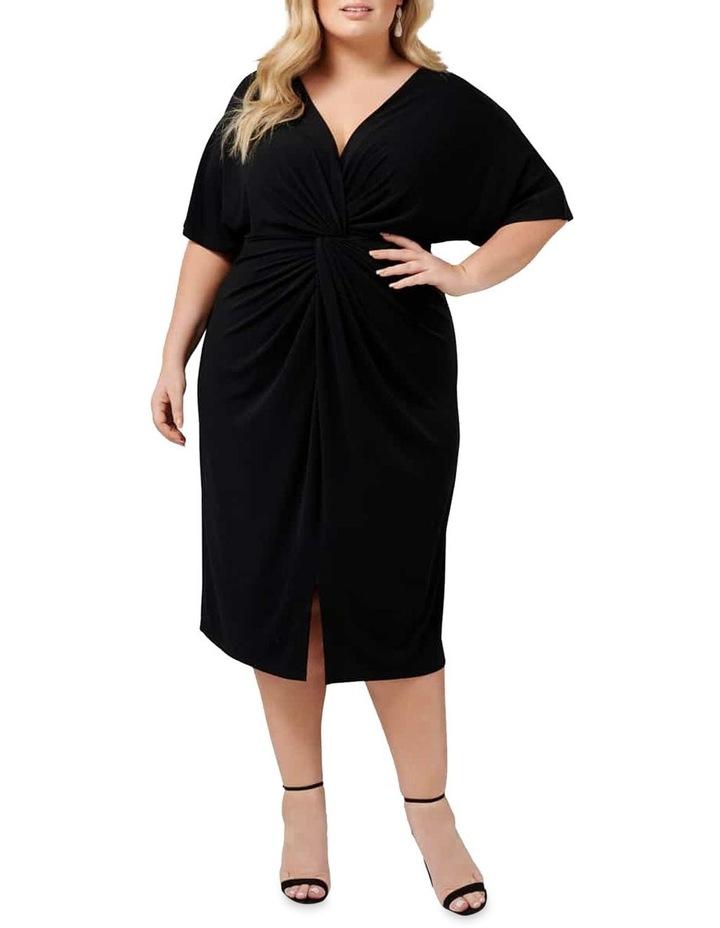 Lisa Twist Front Jersey Curve Dress image 1