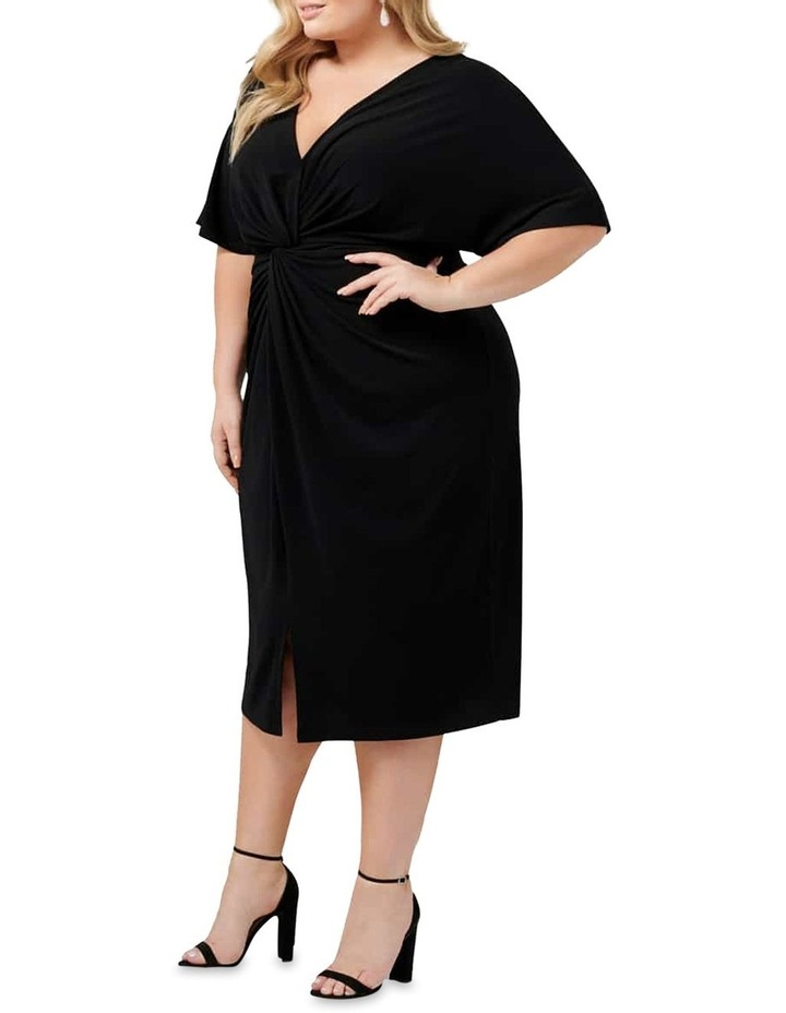 Lisa Twist Front Jersey Curve Dress image 3