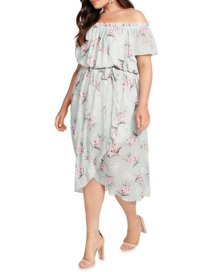 Aria Bardot Maxi Curve Dress image 3