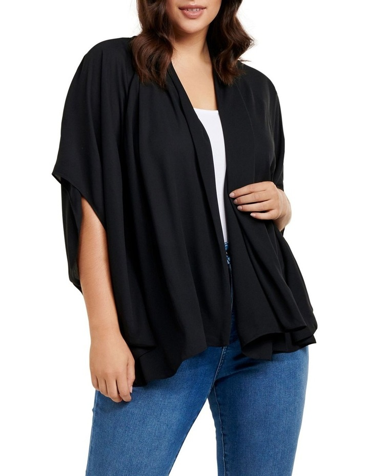 Bree Sheer Waterfall Curve Cover-Up image 1