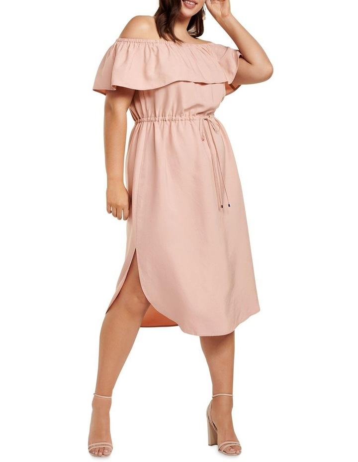 Ruby Bardot Curve Maxi Dress image 1