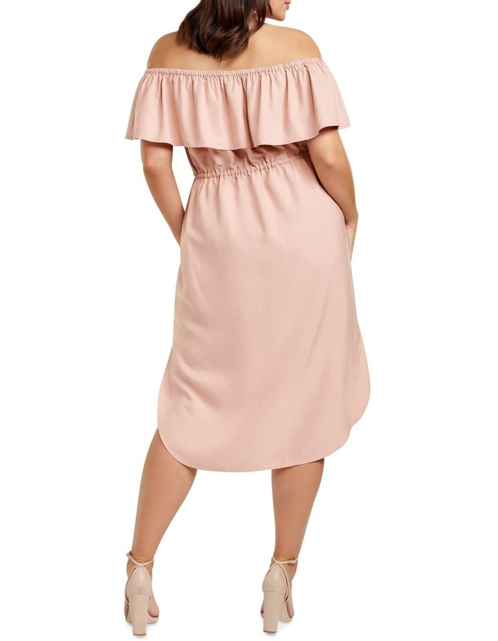 Ruby Bardot Curve Maxi Dress image 4
