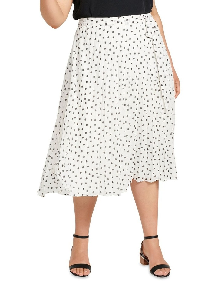Avery Tie Waist Pleated Skirt image 1
