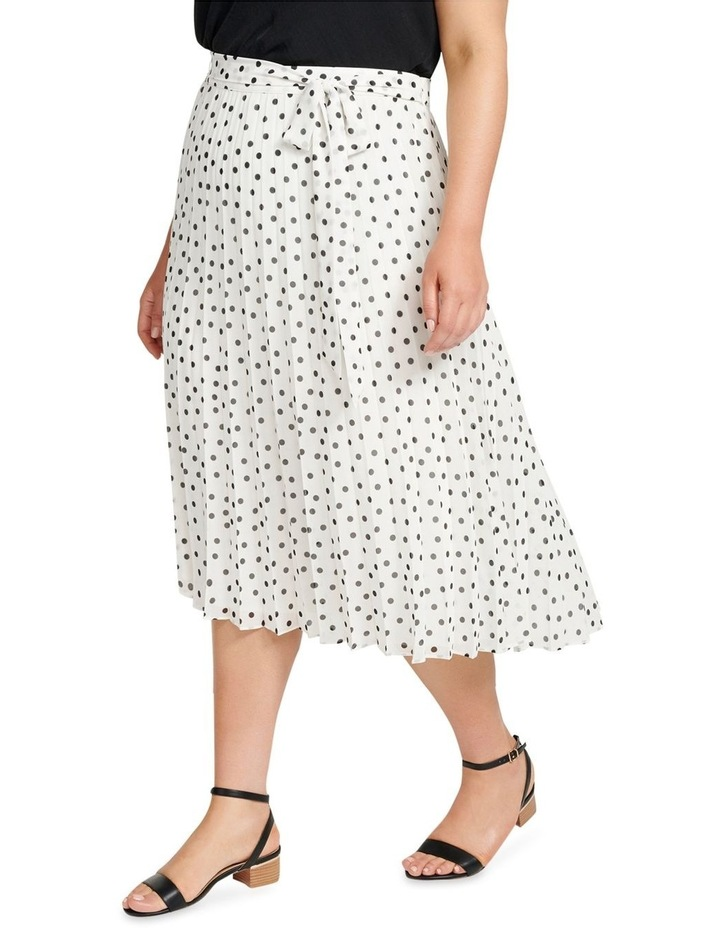 Avery Tie Waist Pleated Skirt image 2