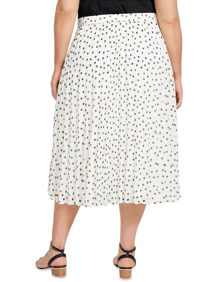 Avery Tie Waist Pleated Skirt image 3