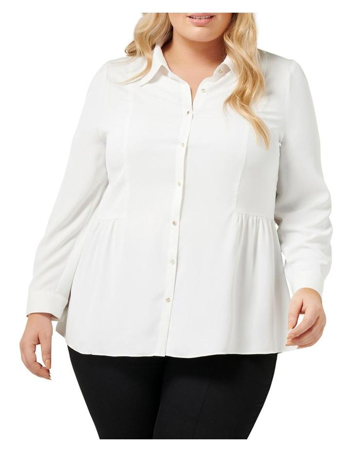 Elise Gathered Curve Shirt image 1
