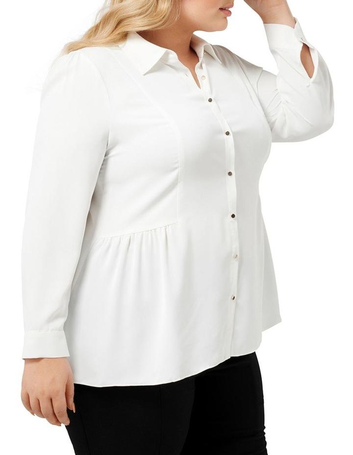 Elise Gathered Curve Shirt image 2