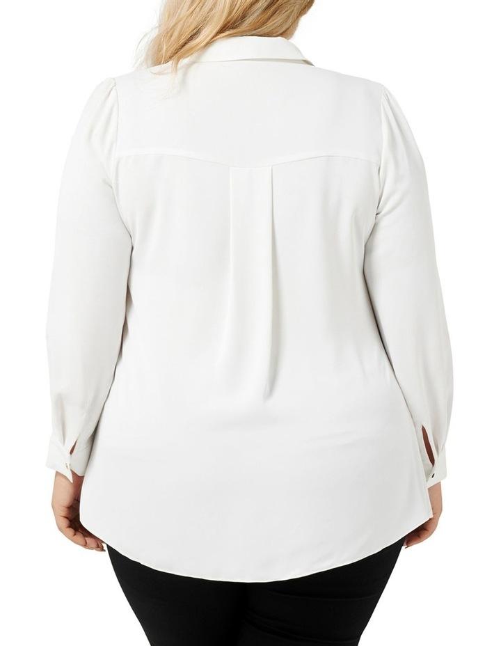 Elise Gathered Curve Shirt image 3