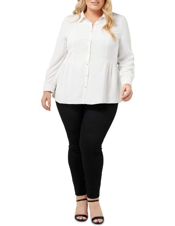 Elise Gathered Curve Shirt image 4