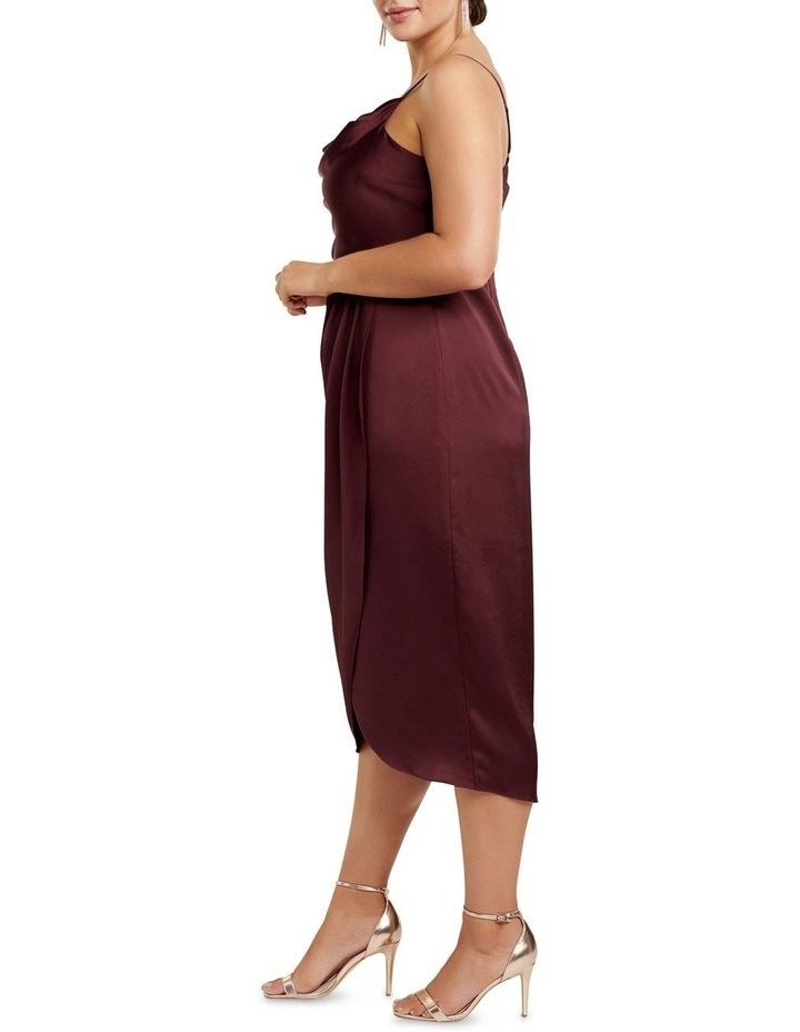 Holly Cowl Neck Midi Curve Dress image 3