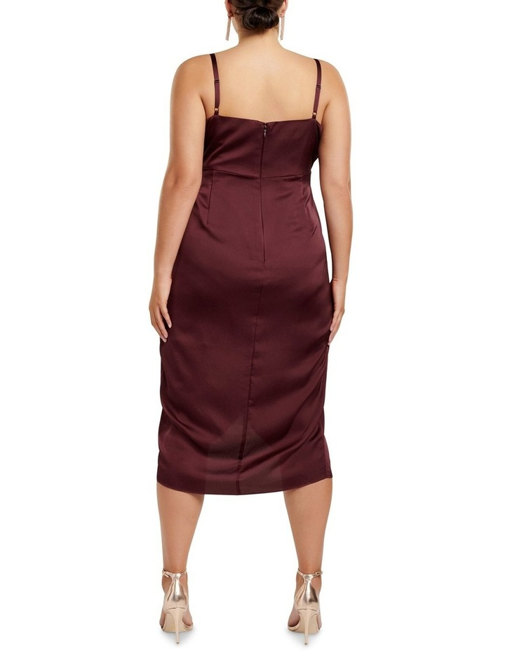 Holly Cowl Neck Midi Curve Dress image 4