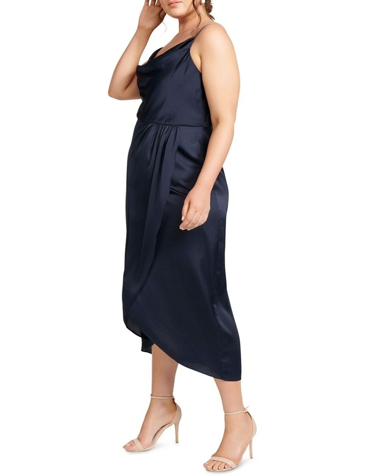 Holly Cowl Neck Midi Curve Dress image 3