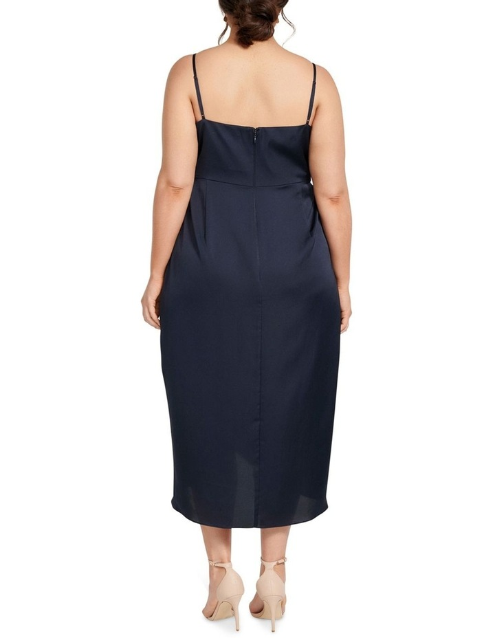 Holly Cowl Neck Midi Curve Dress image 4