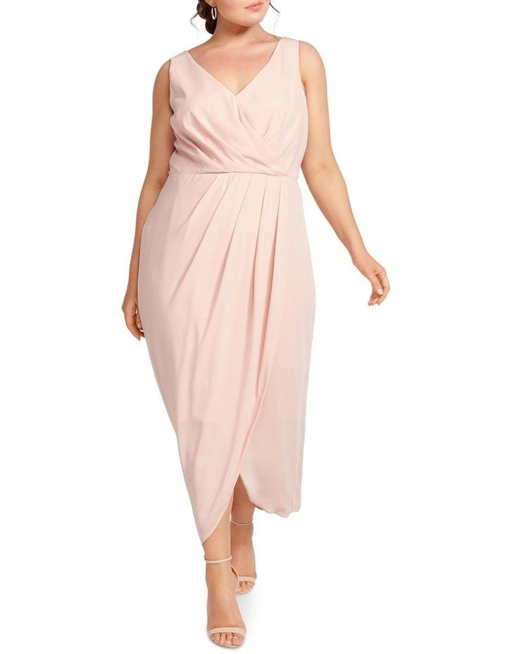 Vienna Formal Wrap Curve Dress image 1