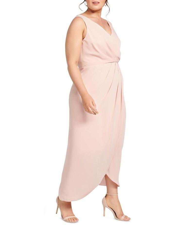 Vienna Formal Wrap Curve Dress image 3
