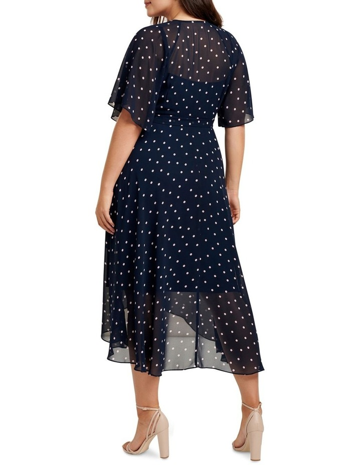 Emma Flutter Wrap Maxi Curve Dress image 4