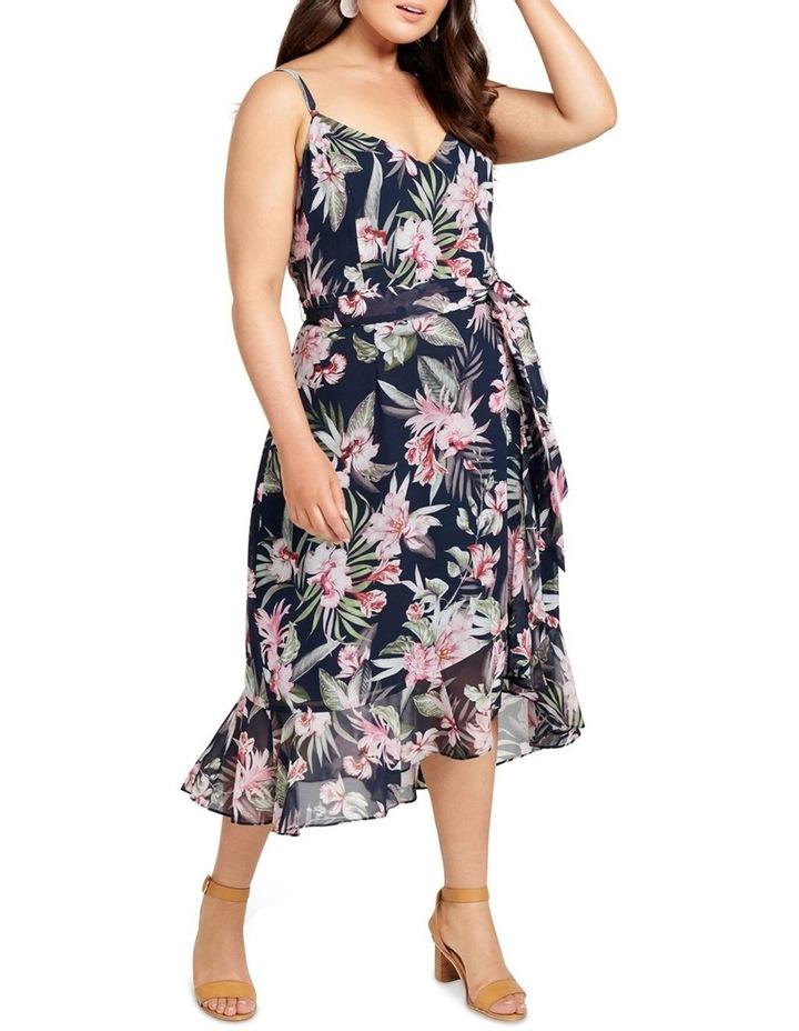 Sofia Ruffle Midi Curve Dress image 1