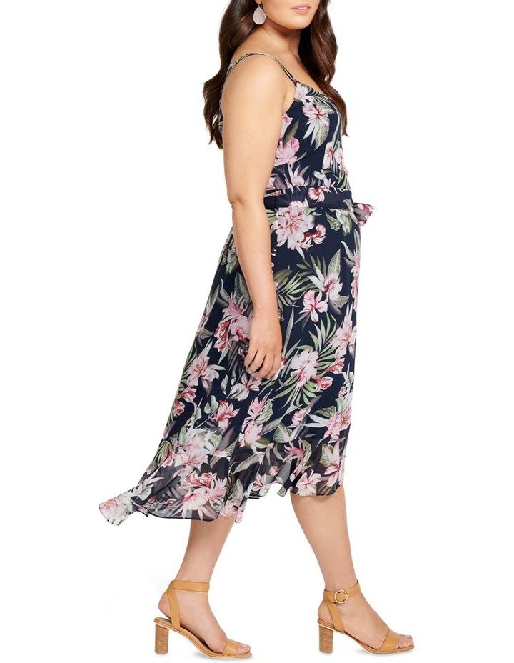 Sofia Ruffle Midi Curve Dress image 3