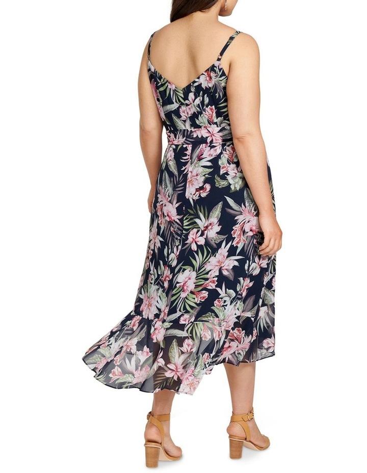 Sofia Ruffle Midi Curve Dress image 4