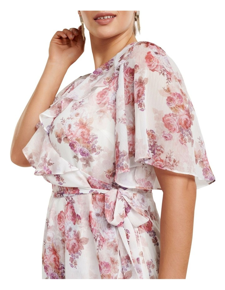 Felicite Flutter Sleeve Curve Midi Dress image 2
