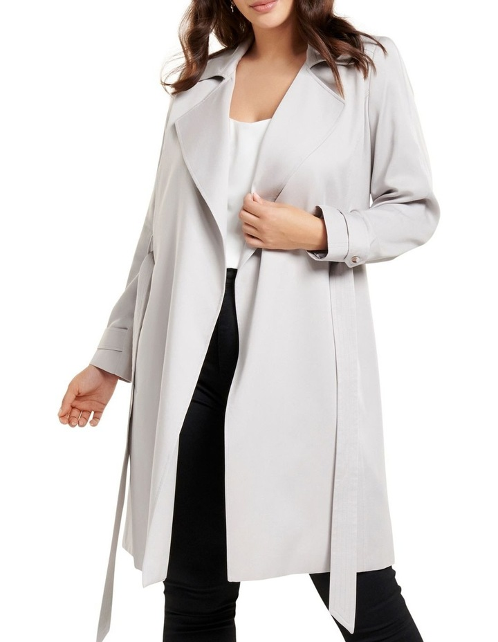 Lettie Soft Curve Trench Jacket image 1