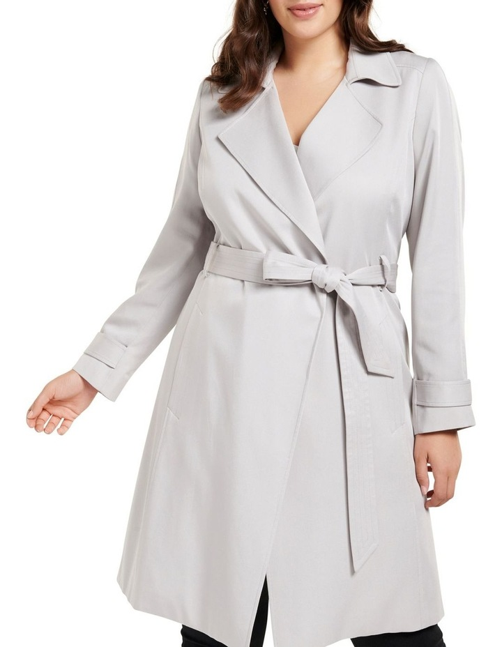 Lettie Soft Curve Trench Jacket image 2