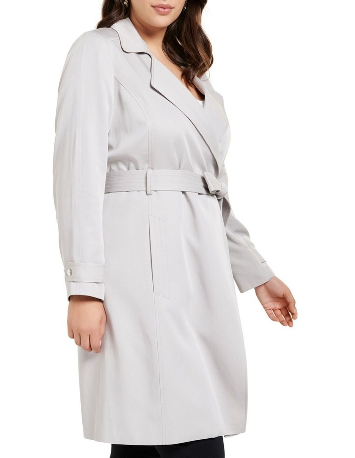 Lettie Soft Curve Trench Jacket image 3
