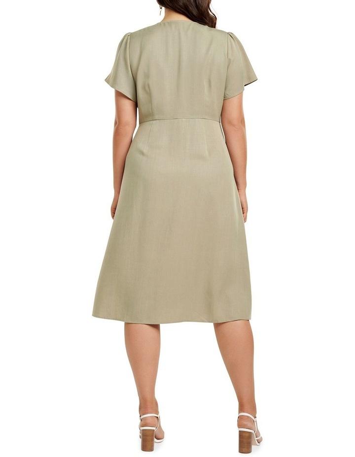 Kennedy Button Down Curve Midi Dress image 4