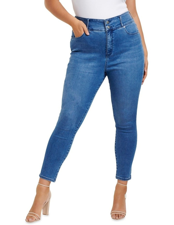 Monica Curve High Rise Ankle Grazer image 1