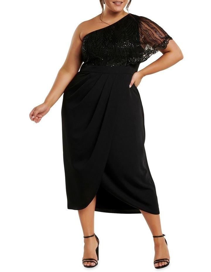 Ruby One Shoulder Sequin Curve Dress image 1