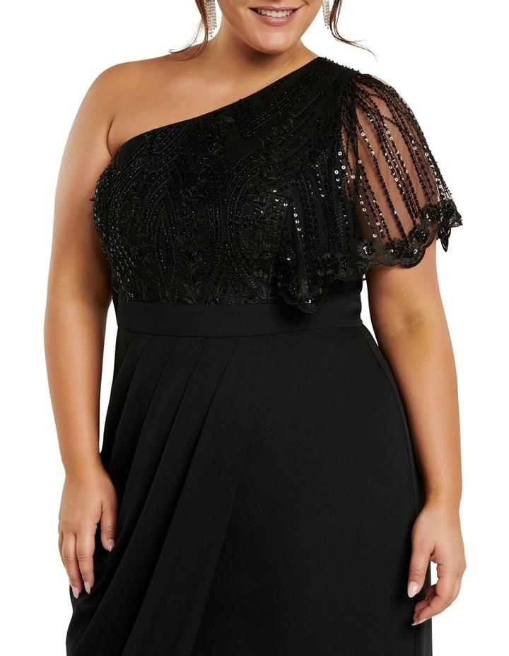 Ruby One Shoulder Sequin Curve Dress image 2