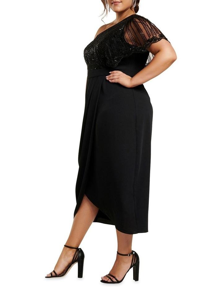 Ruby One Shoulder Sequin Curve Dress image 3