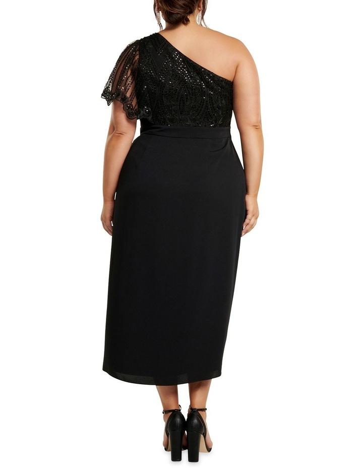 Ruby One Shoulder Sequin Curve Dress image 4
