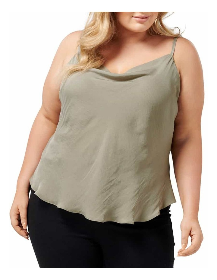 Mariah Cowl Neck Curve Camisole image 1