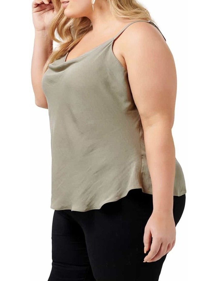 Mariah Cowl Neck Curve Camisole image 2