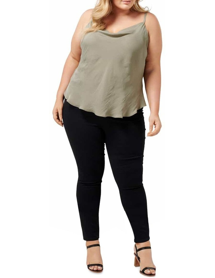 Mariah Cowl Neck Curve Camisole image 4