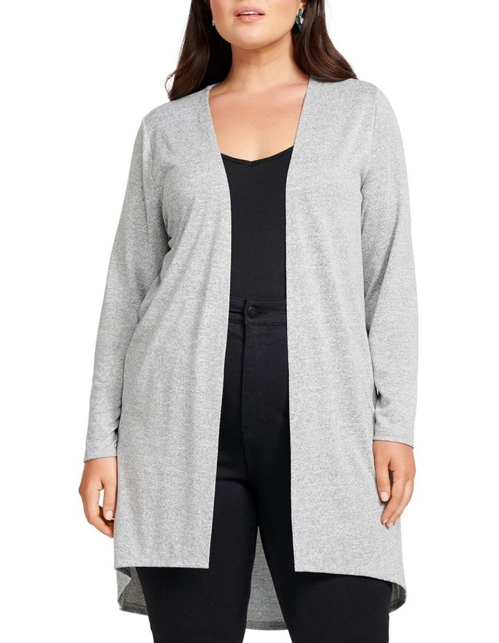 Taylow High Low Curve Cardigan image 1