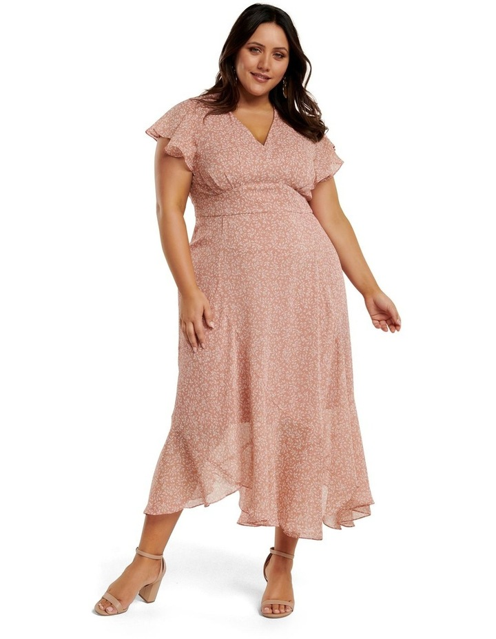 Rhianna Curve Flutter Maxi Dress image 1