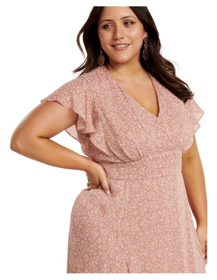 Rhianna Curve Flutter Maxi Dress image 2