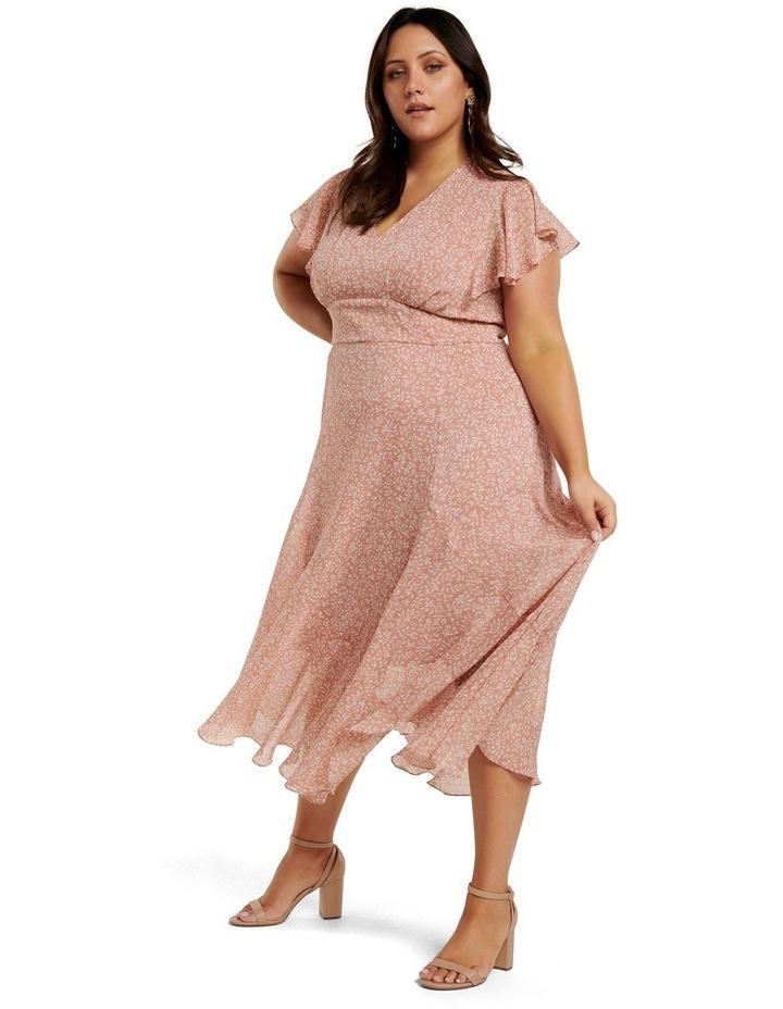 Rhianna Curve Flutter Maxi Dress image 3