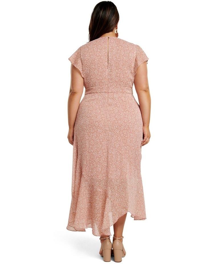 Rhianna Curve Flutter Maxi Dress image 4