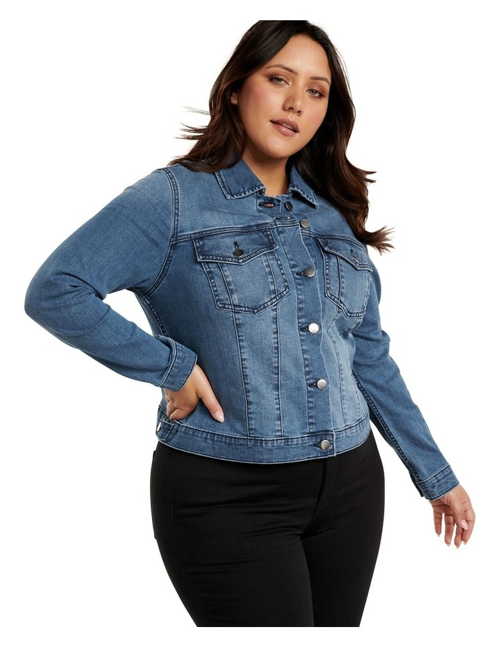 Annie Curve Denim Jacket image 4